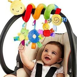 Infant Crib Cot Pram Hanging Rattles Spiral Stroller Car Sea