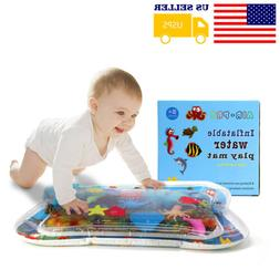 Inflatable Baby Water Play Mat Fun Activity Center for Kids