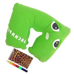 Best Travel Inflatable Neck Pillow Sets Entertaining Crayon