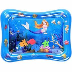 Inflatable Tummy Activity Play Centers Time Water Mat Toy Fo