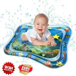 Inflatable Tummy Time Premium Water Mats For Baby Toddler Pl