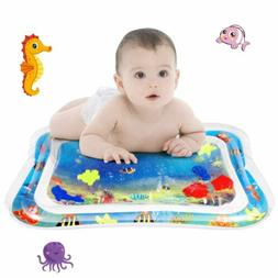 Inflatable Water Mat For Baby Infant Toddlers Mattress Splas