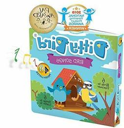 Interactive Bird Songs Book for Babies with Real-Life Sounds