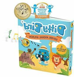 INTERACTIVE SAFARI ANIMAL SOUNDS BOOK for BABIES with Real-L
