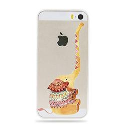 Qissy iPhone6s Case, iPhone 6 Case Panda elephant pig fox he