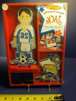 Melissa And Doug: Jack, Magnetic Dress-Up Doll; Toys Collect