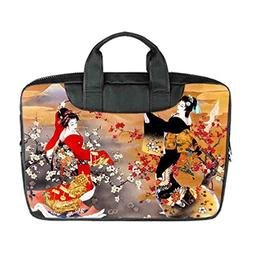 JIUDUIDODO Custom Sexy Japanese Geisha Nylon Waterproof Bag