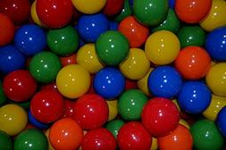 "My Balls by CMS Jumbo 3"" Ball Pit Balls in 5 Bright Colors -"