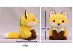 Kawaii Baby Brown Fox Plush Toy Mascot Size Japan Special Wi