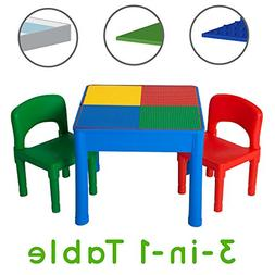 Play Platoon Kids Activity Table Set - 3 in 1 Water Table, C