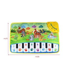 Kids Baby Toys,Hot Animal Musical Touch Play Singing Carpet