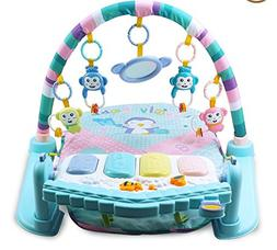 Kids Piano Musical Touch Kick and Play Piano Gym Baby Toy Ma