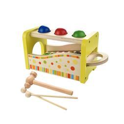 Kids Wooden Hammering & Pounding Toys Notes Xylophone Shape