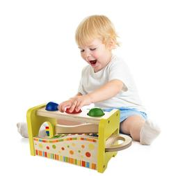 Kids Wooden Hammering Pounding Toys 8 Notes Xylophone Color