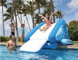 Kids Inflatable Water Slide for Pool and Poolside Splash Fun