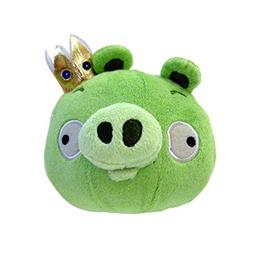 """Angry Birds 5"""" King Pig Plush Officially Licensed"""