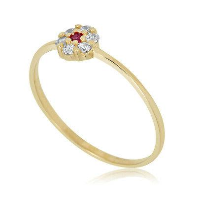 10k yellow gold 0 06 cttw red