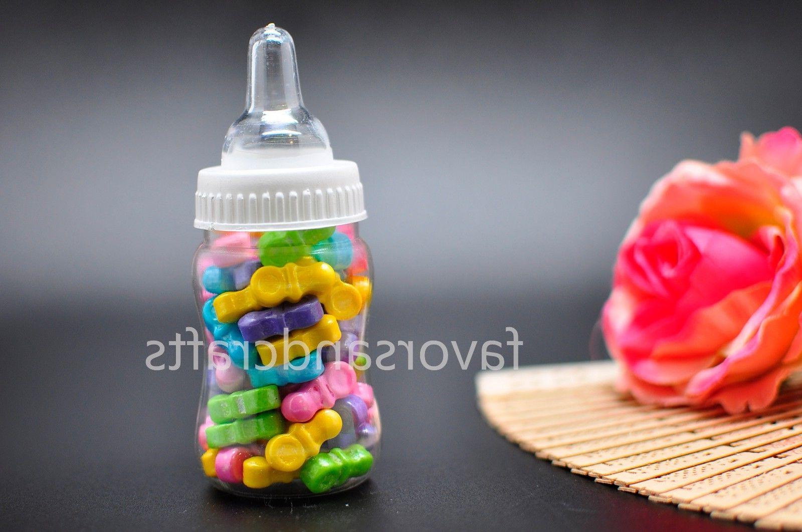 24 Fillable for Baby Shower Favors Pink Party Decorations Girl Boy
