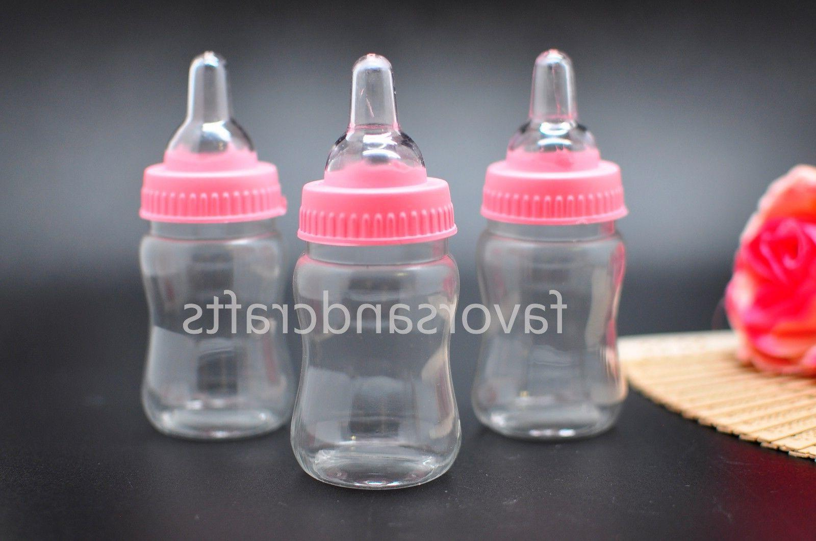 24 Fillable for Baby Shower Pink Party Decorations Boy