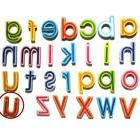27 Lowercase Wood Magnet For Learning Infant Toddler Toys T1