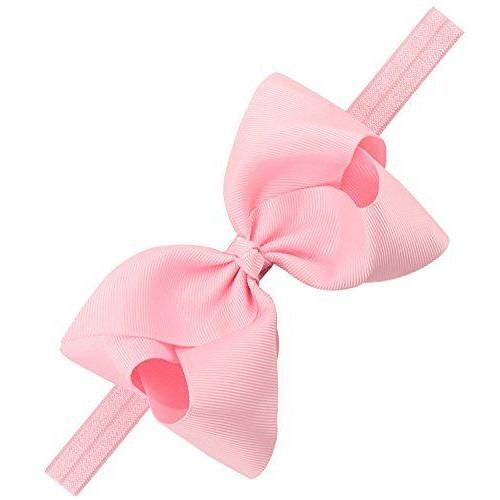 20pcs Ribbon Hair Bows Headbands Big Bow Hair for