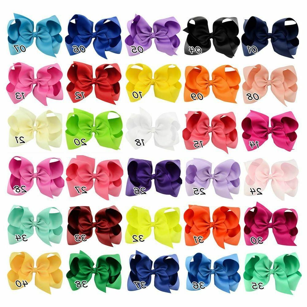 30pcs 6in Ribbon for Baby Kids