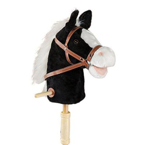 36 horse stick with sound toy stuffed