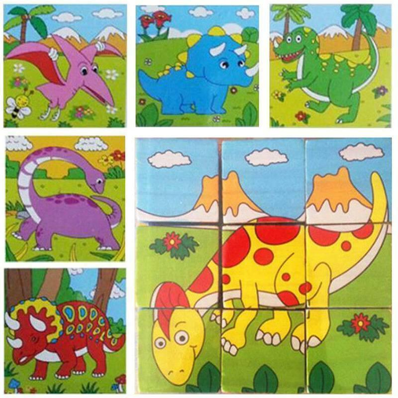 3D Animal Puzzles Set For