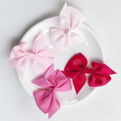 40pcs 20 Girls Hair Bows Kids
