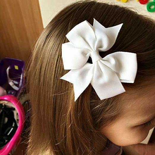 40Piece Ribbon Pinwheel Clips For