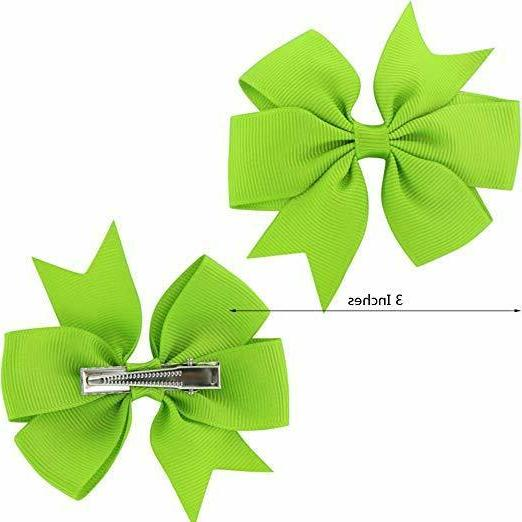 40Piece Pinwheel Hair Clips For