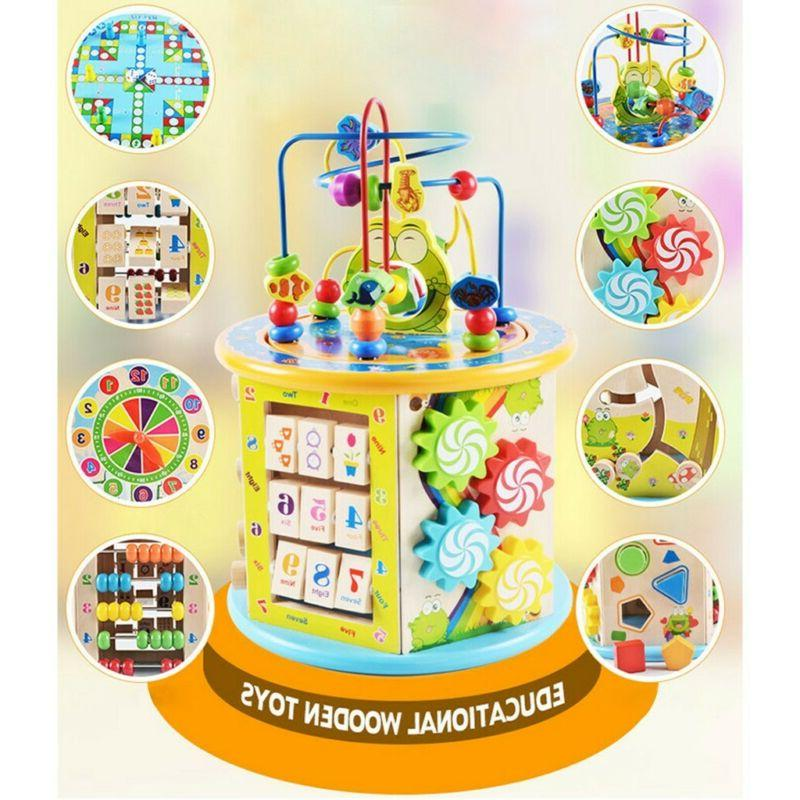 Educational Toys For Kids Activity Box Beaded Maze Learning