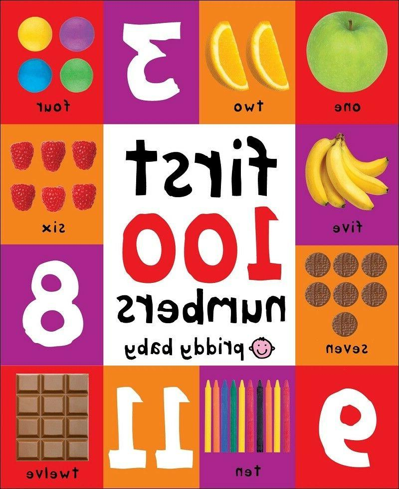 Board First 100 Numbers Boy Girl Toddler Shower Gift