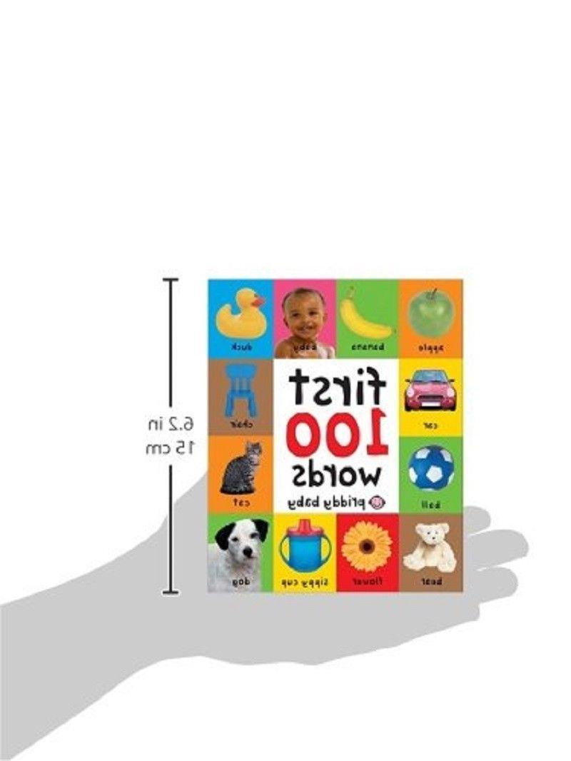 Board For Babies First 100 Words Girl Book Learning Shower Gift