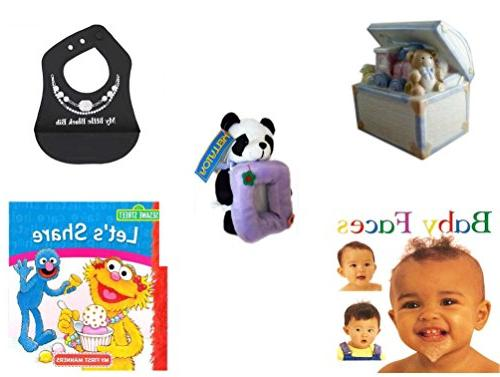Children's Gift Bundle - Ages 0-2  Includes: 1998 Enesco Por