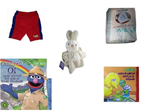 """Children's Gift Bundle - Ages 0-2  Includes: Baby Blanket """"B"""