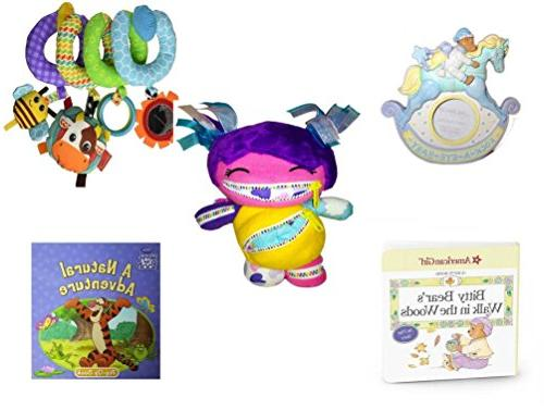 Children's Gift Bundle - Ages 0-2  Includes: Rock-A-Bye-Baby