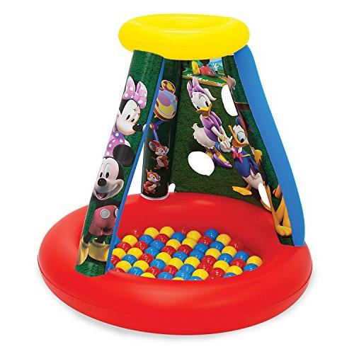 Disney Mickey and Friends Playland with 15 Balls Playhouse