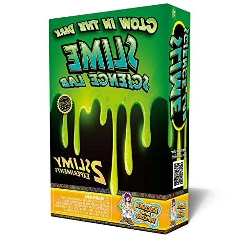 Glow in the Dark Slime Science Kit – A Classic DIY Childre