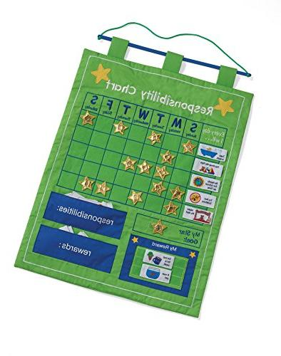 Responsibility and Reward Chart - Children's Chore Chart by