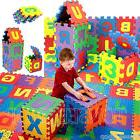 Hot 36PCS Baby Kids Alphanumeric Educational Puzzle Blocks I