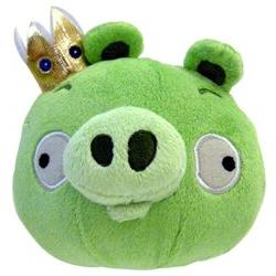 Angry Birds 5 Plush King Pig with Sound
