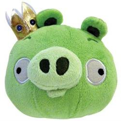 CWT Angry Birds 8 inch King-Pig with Sound