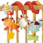 Animal Handbells Developmental Toy Bed Bells Rattle Soft Toy