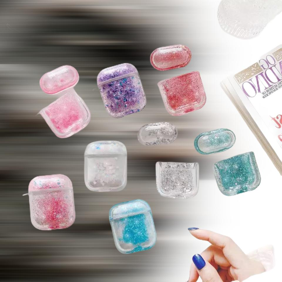 For AirPods Case, Cute Sparkle,