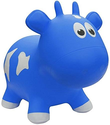 award winning inflatable bouncing blue