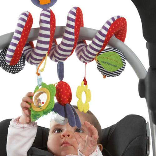 Activity Spiral Crib Stroller Car Seat Travel Hanging Toys B