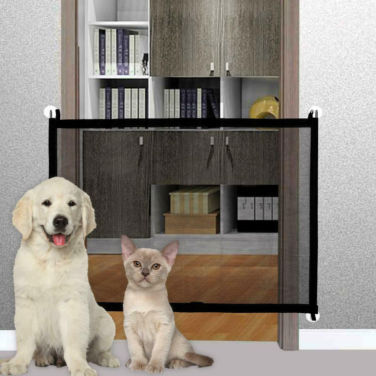 baby gate magic gate for dogs indoor