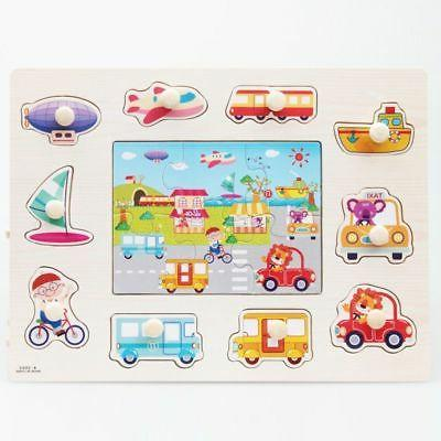 Baby Wooden Jigsaw Early Learning Toys