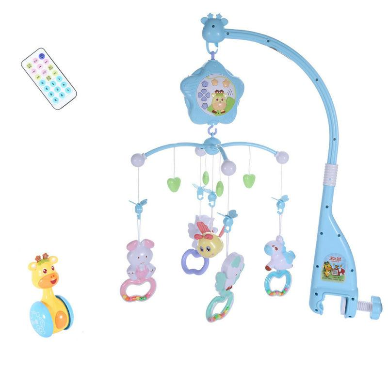 Baby Mobile For Crib Crib Toys With Music And Lights Remote